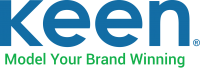 Color Keen logo, model your brand winning