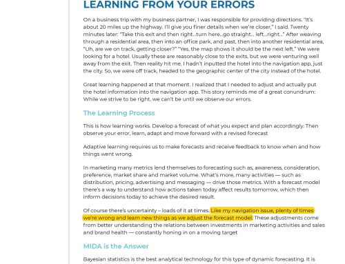 How You Can Learn from Your Errors