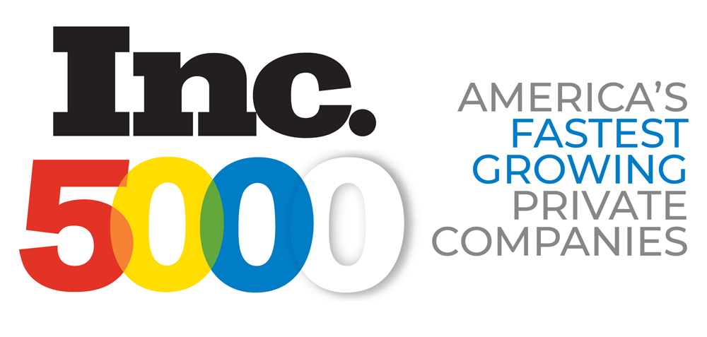 Inc. 500 logo acknowledging Keen as one of America's latest growing private companies