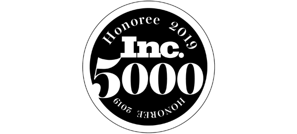 Inc. 5000 logo honoring Keen's entry on the list of America's fastest growing private companies