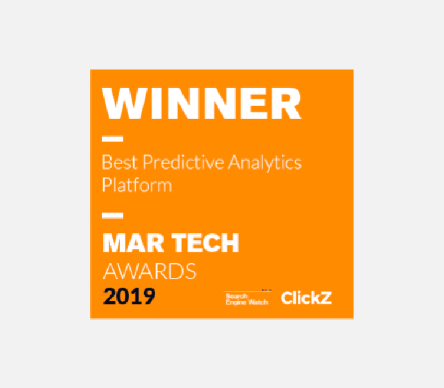 Awarded Best Predicted Analysis Platform