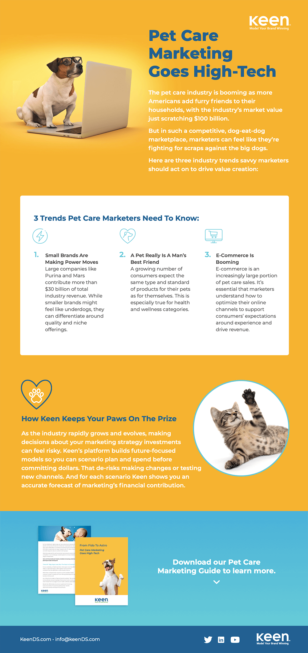 Pet Care Marketers Infographic